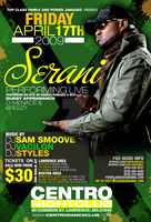 SERANI PERFORMANCE FLYER by DeityDesignz