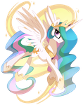 Princess Celestia by pepooni