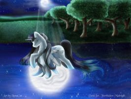 Moonlight Water by customlpvalley