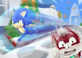 Sonic unleashed - apotos day by kevinramadhan