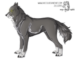 Profile picture of Mikael as a wolf by Saiccu