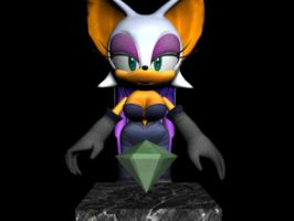 Rouge the Bat Modified by The-Bongmaster