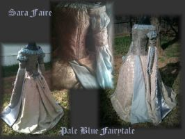 Pale Blue Fairytale by sarlume