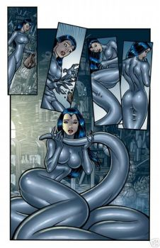Girl transformation to a Naga-girl by Klausklauer