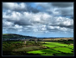 View From Carn Brea Castle.... by Pjharps