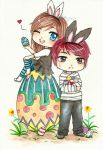 ::Easter Couple:: by hey-its-Japz