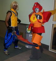 Riku and Hot Rod by R-Legend