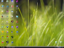 My New Vista Style Desktop by moture