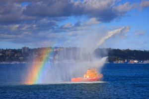Fire Water Rainbow by cplcrud