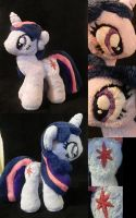 Twilight Sparkle Plush by StarMassacre