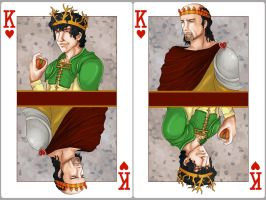 King of Hearts:Renly Baratheon x Stannis Baratheon by SephyStabbity