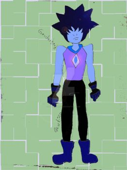 Azurite Genderbender by GabyCoutino