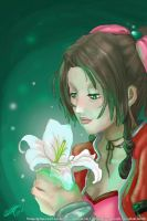 Aerith Gainsborough color sketch by RGDopico