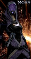 Tali'Zorah by MaddyField
