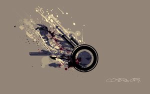 Abstract Vector Wallpaper by CobraGFX