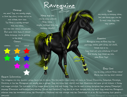 Ravequine -Breed Sheet- by Tigra1988