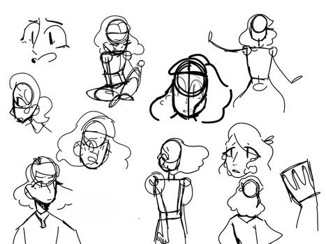 Some sketches by Marcyzz