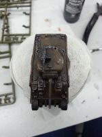 glued and painted a sherman. fun hobby (2) by HanaYean