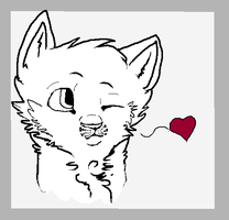 Icon -lineart- by warriorfoxheart