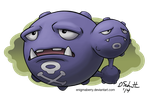 110 Weezing by EnigmaBerry