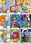 Mathematical! Adventure Time Sketch Cards by artyewok