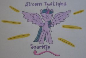 Alicorn Twilight Sparkle!!! by TopazBeats