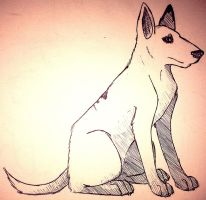 .: English Bull Terrier :. by Silversnow-wolf
