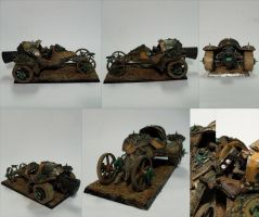Skaven Doomwheel Conversion by Nordic-Dragon