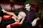 Joker x Harley II by EnchantedCupcake
