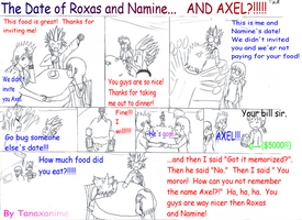 The Date of Roxas and Namine.. by Tanaxanime