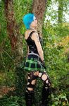 Turquoise Hair by UndercoverEnvy