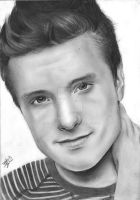 Josh Hutcherson by Bee-Minor
