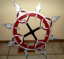 Axel's Chakrams - Step III by NSCosplay