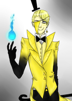 Human Bill Cipher??? by RaisedbytheVillains