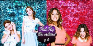 Pack Png De Violetta 1 y 2 by Tinista2003