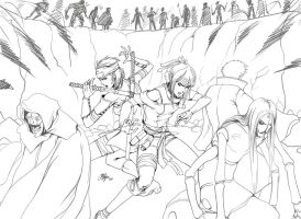 +Surrounded+ Naruto OC Collab by Oshouki
