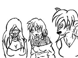 Line up Lineart by Mr-Alf
