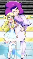 Pokemon Lillie and Wicke by CaptainAcelot