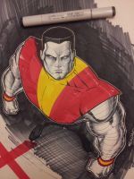 colossus with Copic by Sajad126