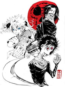 Hunter X Demon X Thief by Teckito