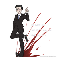 bbc sherlock: JIM MORIARTY by Minuu-chan
