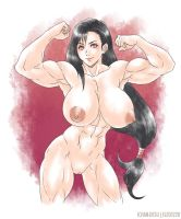 Tifa Nude by elee0228