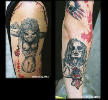 Untitled XI Finished Tattoo by DickStarr