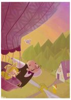 henry gale and his brave niece by Pocket-Zoo