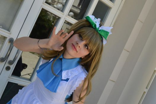 Kotori in wonderland by Follin