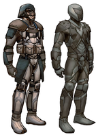 Future Character Designs by biz20