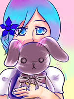 PL: Everosa and a Bunny by marimariakutsu