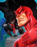 Dr.Midnite  Daredevil by stompboxxx
