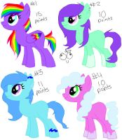 More Pony Adopts OPEN by Rainbow-ninja-adopts
