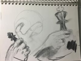Hand Study by ldjessee